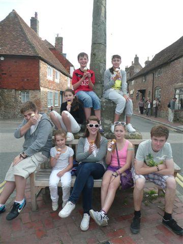 Members' children in Alfriston